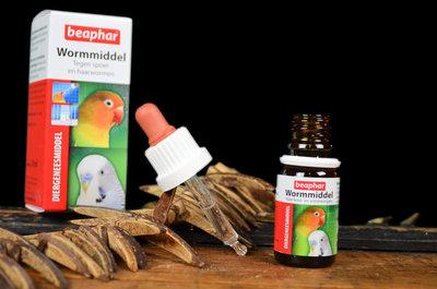 wormmiddel voor papegaaien 1