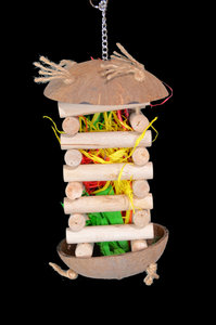 speeltoren voor papegaai stacker 1