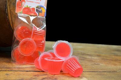 Fruit cups aardbei